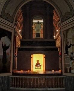 Trono del Santo (visto da dietro)