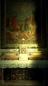 Cappella della Chiesa di Santa Caterina a Formiello in Napoli che custodisce i corpi dei Santi di Otranto