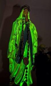 Madonna fosforescente a Medjugorje