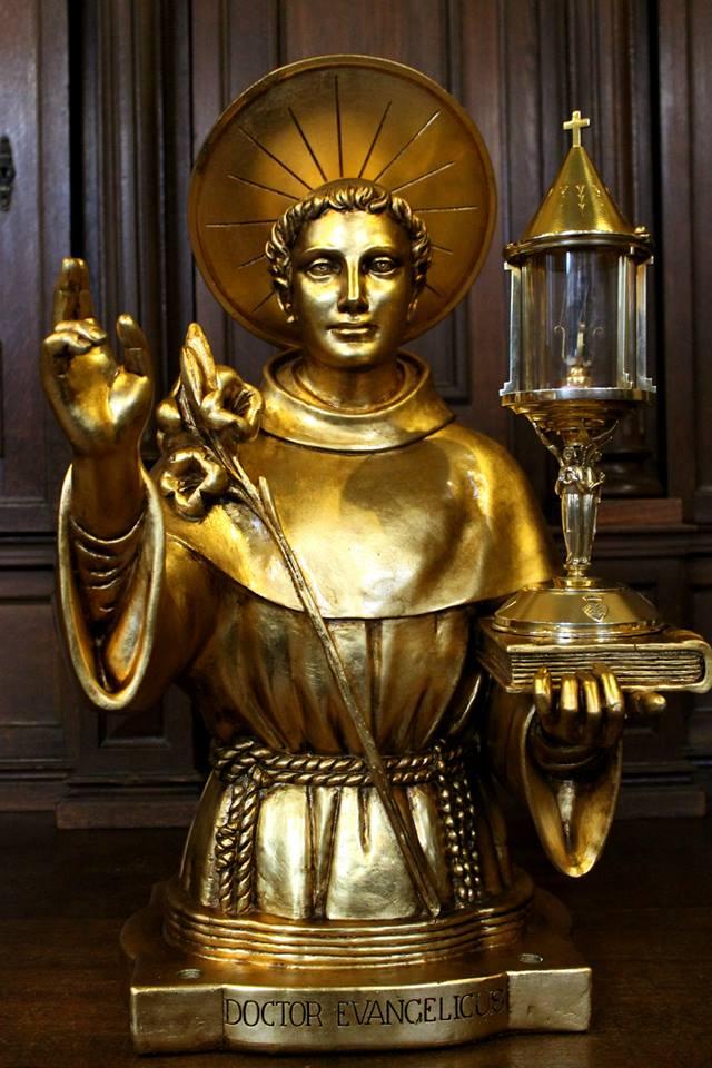 Busto Reliquiario di Sant'Antonio di Padova
