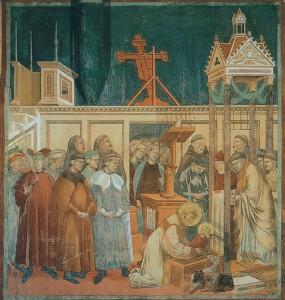 il presepe di Greccio secondo Giotto
