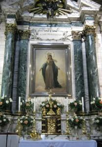 Altare presso il quale apparve la Vergine Maria ad Alfonso Ratisbonne