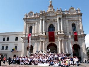 fedeli del pellegrinaggio del 2013
