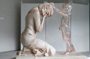 Carezza di un bambino mai nato