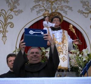 cittadinanza onoraria Afragola a Carballo