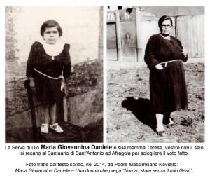 Serva di Dio Maria Giovannina Daniele vestita da munaciella