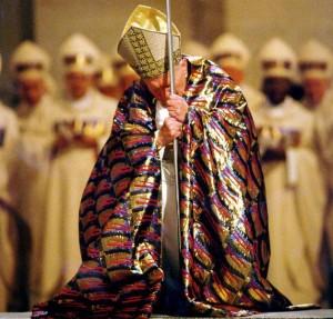 Giovanni Paolo II all'apertura del Giubileo
