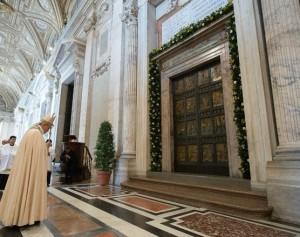 porta santa papa francesco