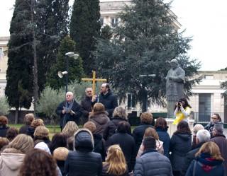 fedeli di Afragola a Pompei
