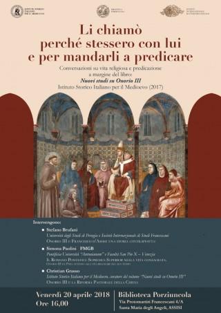 libro su Papa Onorio